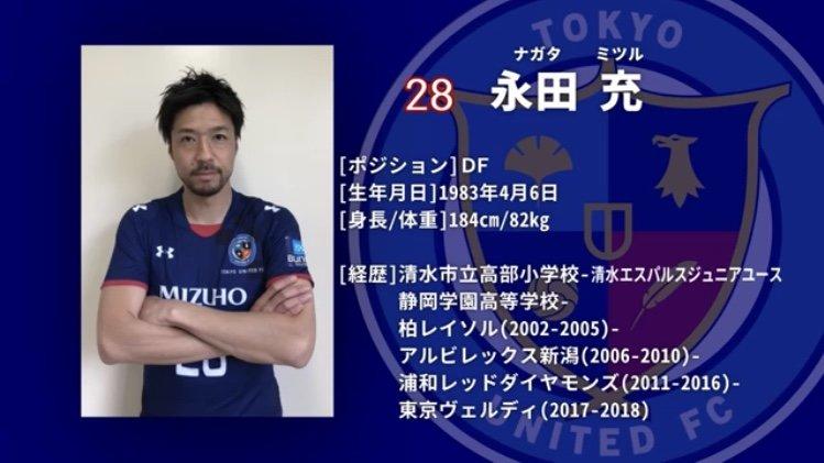 永田充選手の加入についても紹介して頂きました